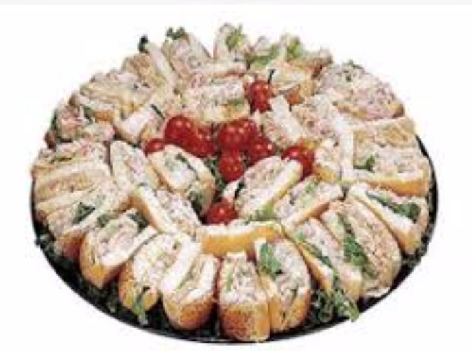 Assorted Cold Salad Sandwich Platters