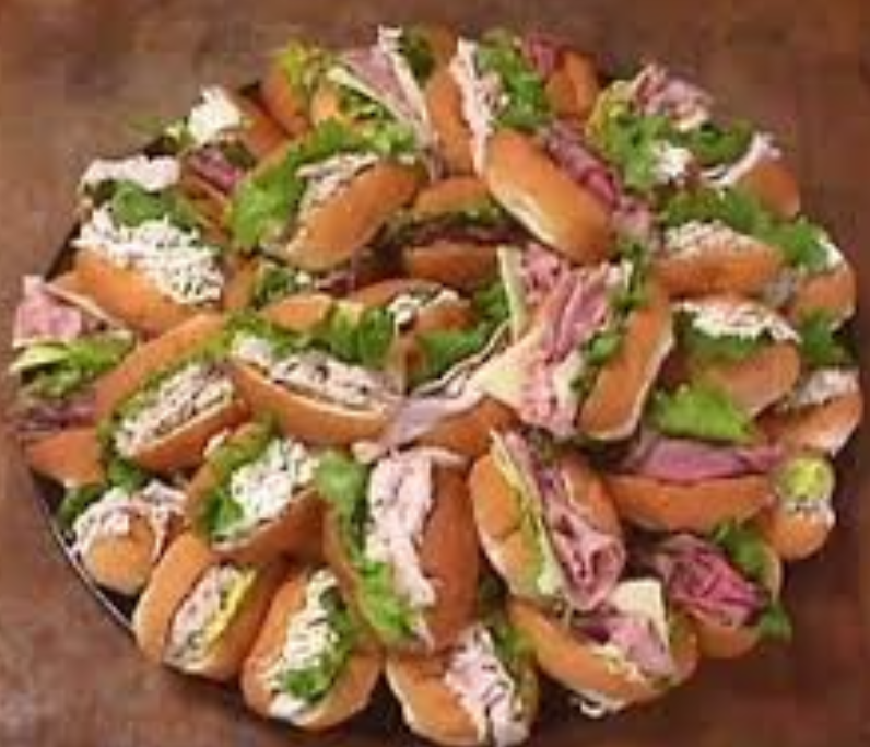 Assorted Club Sandwiches